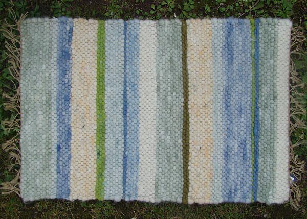 Handgewebte Teppiche Das blaue Schaf  Eutin